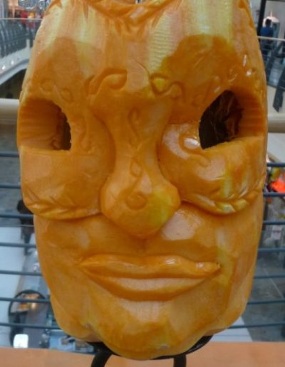Pumpkin carved 1