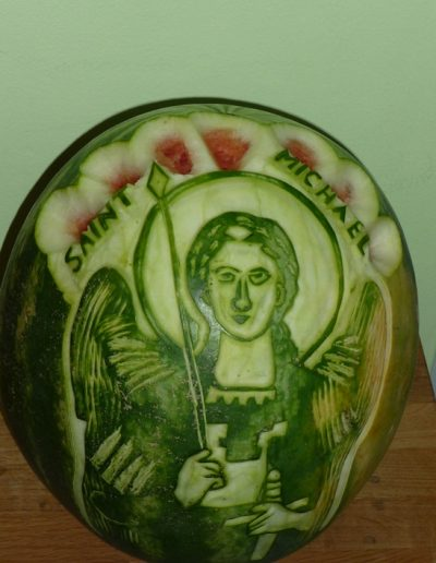 Watermelon carved 11