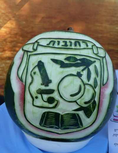 Watermelon carved 14