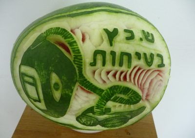 Watermelon carved 16