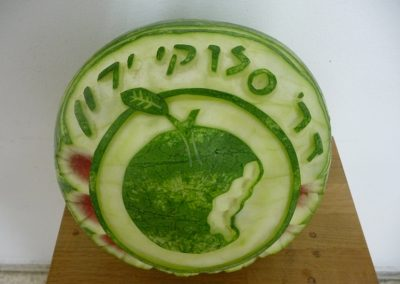 Watermelon carved 17