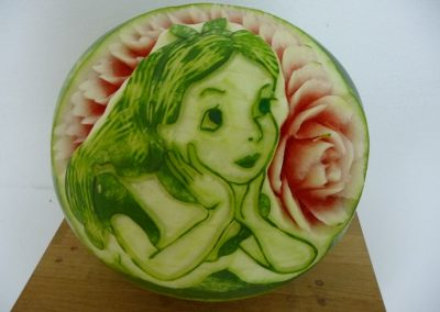 Watermelon carved 18