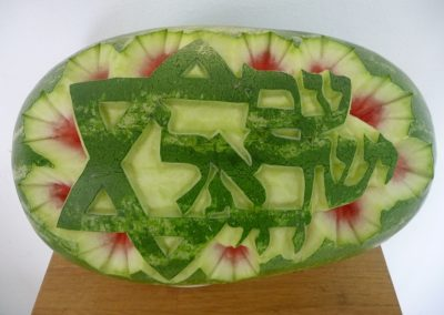 Watermelon carved 19