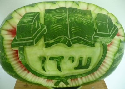 Watermelon carved 20