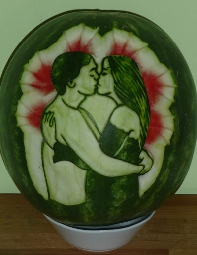 Watermelon carved 26