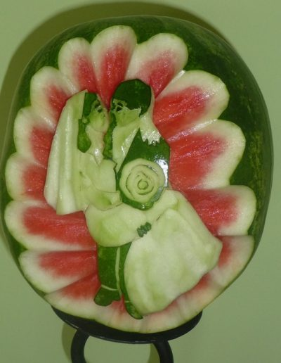 Watermelon carved 29