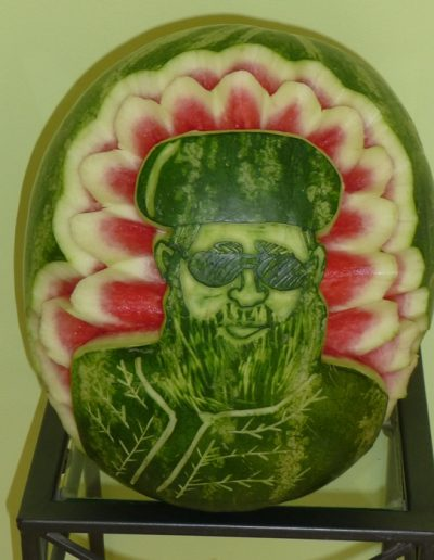 Watermelon carved 3