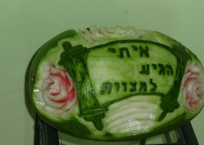 Watermelon carved 4