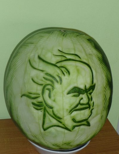 Watermelon carved 7