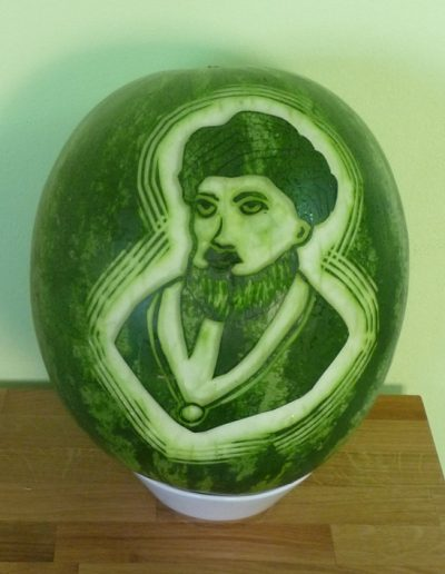 Watermelon carved 8